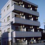 駅近のオートロックマンション(外観)